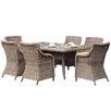 Alexander 7 Piece Dining set Channel Enterprises