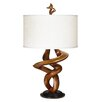 "Pacific Coast Lighting Gallery Tribal Impressions 33"" H Table Lamp with Drum Shade"