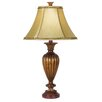 "<strong>Pacific Coast Lighting</strong> Essentials Kathy Ireland Umbria 32"" H Table Lamp with Bell Shade"