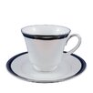<strong>Toorak Noir Tea Cup and Saucer Set</strong> by Noritake