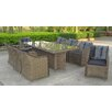 <strong>Liverpool 9 Pieces Wicker Dining Set</strong> by Sunlong Garden