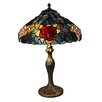 <strong>Bingli Lighting</strong> Roses Multi Colour Table Lamp