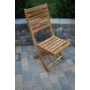 Arbora Teak St. Bart Folding Chairs (Set of 2)