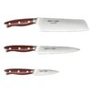 <strong>Ergo Chef</strong> Crimson Series 3 Piece Knife Set