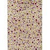 Chandra Rugs Ast Ivory Dots Area Rug