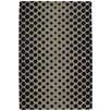 Chandra Rugs INT Black/Sage Area Rug