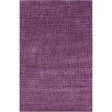 Chandra Rugs INT Purple Geometric Area Rug