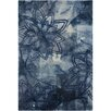 Chandra Rugs Ornate Blue Area Rug