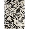 Chandra Rugs INT Beige/Black Area Rug