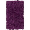 Chandra Rugs Paper Shag Purlpe Area Rug (Set of 2)