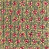 Chandra Rugs Strata Green/Red Area Rug