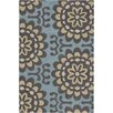 Amy Butler Blue Wallflower Rug