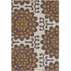 Chandra Rugs Amy Butler Orange Wallflower Area Rug