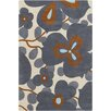 Chandra Rugs Amy Butler Morning Glory Blue Rug