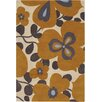 Chandra Rugs Amy Butler Morning Glory Orange Area Rug