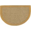 Chandra Rugs Half Moon Brown/Tan Area Rug