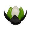 Waterlilly Table Lamp in Black, Green and White Rovan