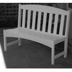 <strong>Breezesta Park Bench in White</strong> by ID Trends