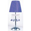 Tizz Touch Lamp in Blue (Purple) Oriel Lighting