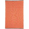 <strong>Kimberley Orange Geometric Rug</strong> by Fab Rugs