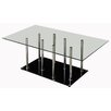 Coffee Table with Tempered Glass Top Innova Australia
