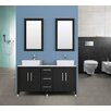 Double Vanity in Dark Brown / Espresso Innova Australia