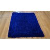 <strong>Spirit Shaggy Rug in Dark Blue</strong> by Merinos Rugs