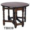 Forworld Mini Gateleg Dining Table