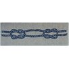 French Nautical Knot Doormat Doormat Designs