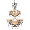 <strong>Fredrick Ramond</strong> Barcelona 16 Light Chandelier