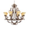 Firenza 8 Light Chandelier