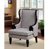 Hokku Designs Mortimer Wood Trim Arm Chair