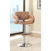 Hokku Designs Lesticia Adjustable Height Swivel Bar Stool