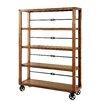 """Hokku Designs Joshua 72"""" Shelf Bookcase"""