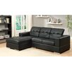 Hokku Designs Katorie Chaise Sectional with Left Facing Chaise