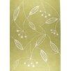 Hokku Designs Blossom Green Rug