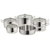 Magefesa Vitreux Stainless Steel 10-Piece Cookware Set