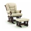 Shermag Sleigh Style Matching Glider and Ottoman
