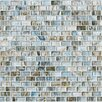 <strong>Shaw Floors</strong> Glass Expressions Micro Blocks Accent Tile in Seaglass