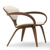 Cherner Chair Company Upholstered Lounge Arm Chair