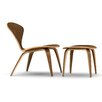 Cherner Chair Company Lounge Side Chair and Ottoman