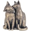 <strong>Yum Yum and Friend Cat Sculpture</strong> by Frith Sculpture