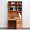 <strong>Gothic Furniture</strong> Riverdale Computer Desk with 4 Drawer