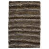 Kosas Home Valerie Wool Jute Black Pepper Area Rug