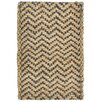 Kosas Home Chevron Black Handspun Outdoor Area Rug