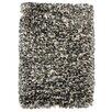 Kosas Home Elegante Luna Pearl Gray Shag Area Rug