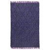 Kosas Home Amelia Flat Weave Purple Indoor/Outdoor Area Rug