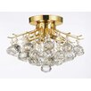 <strong>Harrison Lane</strong> 4 Light Crystal Chandelier