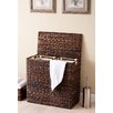 BirdRock Home Oversized Divided Hamper with Liner