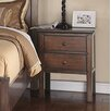 Oasis Home and Decor Forest Cove 2 Drawer Nightstand